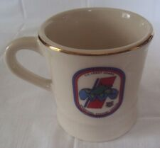 """United States Coast Guard Operations Coffee Mug 1994 Made in Usa ~ 3 3/4"""" Dia"""