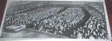 "Dec 1967 NY Philharmonic Hall 125th Birthday Concert Panorama Photograph 10x24"""