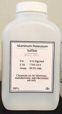 Aluminum Potassium Sulfate POWDER Minimum 99.5% purity! 1 pound BOTTLE