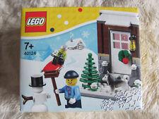 Lego 40124 Weihnachten / Winterspass Winter Fun v. 2015 Neu u. OVP !