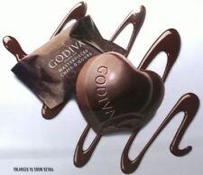 NEW - Godiva Belgium 1926 MasterPieces Dark Chocolate GANACHE HEART 14.6 oz