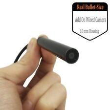 10MM Mini Security Bullet Camera 720P Covert Surveillance BNC Camera w/ Audio