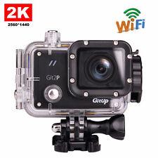 GitUp Git2P Pro Packing Novatek96660 Wifi 2K HD 1080P 60fps Sports Action Camera