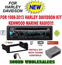 FOR 98-13 HARLEY TOURING KENWOOD KDC-168U INSTALL ADAPTER FLHT RADIO FLHTC FLHX