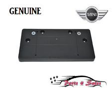 NEW  MINI COOPER Front License Plate Base Genuine 51 13 2 756 510 NEW