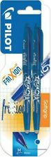 Pilot Frixion Erasable Rollerball Pen | Blue | 0.7mm | Twin Pack