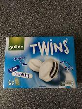 Gullon  Twins White Chocolate Sandwich Cookies 6 x 42g