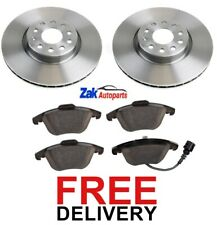 FOR AUDI Q3 1.4 2.0 TDi TFSi (2011-2016) 2 FRONT BRAKE DISCS AND PADS SET NEW