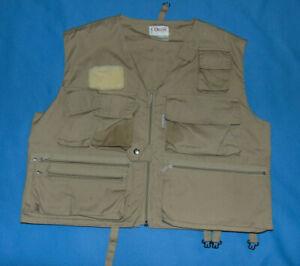 VINTAGE Orvis Mens XS Vest Lightweight Super Tac-L-Pak Fly Fishing