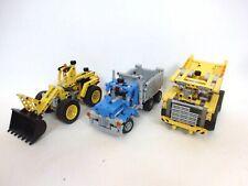 Lego Technic Muldenkipper+  Radlader + LKW Technik Baukasten Set