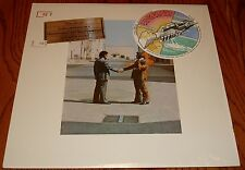 PINK FLOYD WISH YOU WERE HERE ORIGINAL LP INCLUDING STICKER STILL IN SHRINK 1975