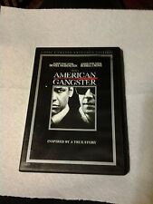 AMERICAN GANGSTER   DVD   2008   2-DISC UNRATED EXTENDED EDITION   FREE SHIPPING