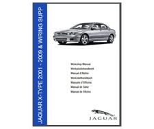 Jaguar X Type 2001 - 2009 Workshop Manual & wiring diagrams