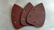 95mm x 135mm Palm Sander Sheets - Sanding Pads - Hook & Loop back - Mixed Pack