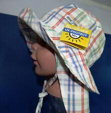 UV Schutz KU 51 52 53 54 55 BINDEN Nackenschutz Sommer Sonnen Hut Mädchen Junge