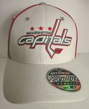 "Washington Capitals Hat Cap Fitted M/L aprox 7 1/2"" Stretch Fit NHL Unisex New"