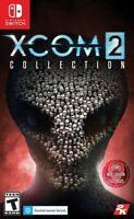 XCOM 2 + War Of The Chosen + 4 DLC Packs. Nintendo Switch 2020 Brand New/Sealed