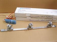 Lot of 2 Aurora Mini Adjustable Track Light Kit With Blue LED's. Display,Cabinet