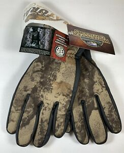 Whitewater Outdoors natural gear camo gloves Camouflage Size Mens XL