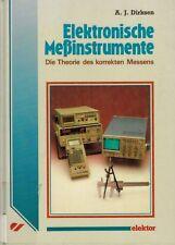 Dirksen, Elektronische Meßinstrumente, Theorie korrektes Messen, Meß-Instrumente