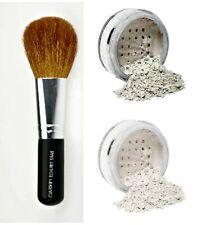 VEIL PRIMER & FINISHING POWDER w/ BRUSH Mineral Makeup Kit Bare Skin Sheer Set