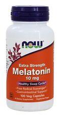 NOW Foods Melatonin -- 10 mg - 100 Vegetarian Capsules