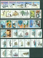 Australia Antarctica : All Vf, Mint Nh, all different Complete sets. Cat $128.00
