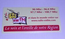 """Autocollant """"Radio Est Fm"""""""