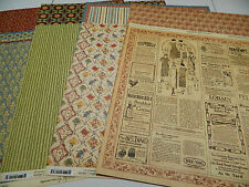 Graphic 45 Scrapbook Paper 12x12 Domestic Goddess 4Patterns 32Double Side Sheets