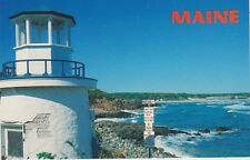 "*Maine Postcard-""Lobster Point Light Tower & Marginal Way"" /Ogunquit/ (U1-ME569)"