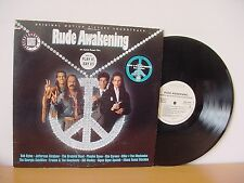 RUDE AWAKENING WHITE LABEL PROMO AUDIOPHILE  BOB DYLAN, THE GRATEFUL DEAD