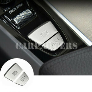 For Volvo S60 V60 XC60 Inner Console Electronic Handbrake Button Cover 2018-2020