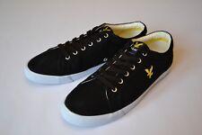 Brand new LYLE & SCOTT Black Deck Shoes Pumps Casual Trainers Mens Sz. 8 UK