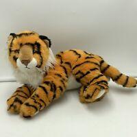 Ty Classic Tiger Pinstripe Plush Stuffed Animal 2005  Soft Toy Orange Black
