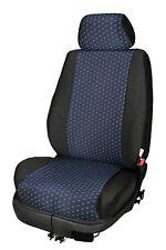 Schwarz-Graue Sitzbezüge für NISSAN NV300 Autositzbezug VORNE NUR FAHRERSITZ