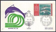 SMOM 1975 FDC  Venetia Club Espressi Delfini