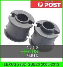 Fits LEXUS 220D GSE20 Rear Stabilizer Bush Kit Sway Bar