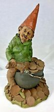 Tom Clark Gnome Zurich with Pot of Coins #1007 Edition #65 Cairn Studio 8""