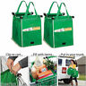 Foldable Reusable Grocery Large Trolley Clip-To-Cart Supermarket Shopping Bag