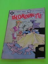 1977 BLONDINETTE BLONDIE & DAGWOOD #27-28  FRENCH HERITAGE EDITION RARE
