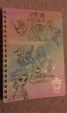 Disney Characters Japan Notebook Crystal Season