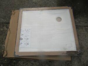 hale 800 x 800 Lightweight slimline  good quality Shower  Tray