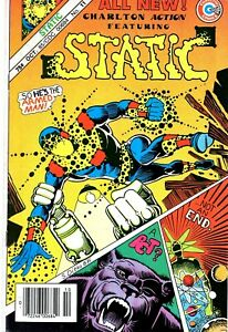 Static #11 - 1985 Steve Ditko -Charlton Comics-NO RESERVE!!!