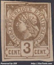 HAITI REPUBLIQUE N° 3 NEUF * AVEC CHARNIERE