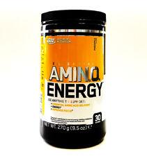 Optimum Nutrition Amino Energy Pineapple 270g Intense Energy Focus Caffeine