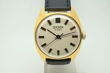 WATCH RAKETA SEKONDA RUSSIAN USSR SOVIET GOLD PLATED EXCELLENT CONDITION 1980s