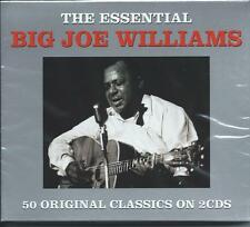 Big Joe Williams - The Essential [Best Of / Greatest Hits] 2CD NEW/SEALED
