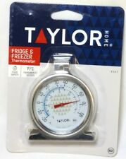 3507 TAYLOR Freezer-Refrigerator Thermometer, -20 F to 80 F