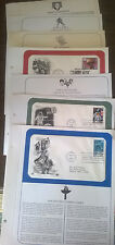 Lot of 7~1989-1994 OLYMPIC GAMES, BILL OF RIGHTS, ETC  FIRST DAY ISSUE  Cover