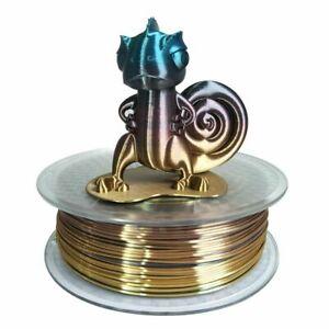 3D Printer Silk Rainbow Multicolor PLA Filament 1.75mm 1KG Multi Color Changing